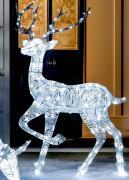 Новогодний светодиодный олень