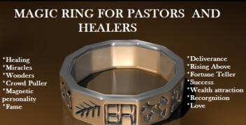 ORDER NOW THE WITCHCRAFT MAGIC RING TO BECOME RICH