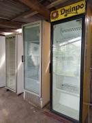 Refrigerated showcases single-door cabinets for second-hand drinks Zaporozhye