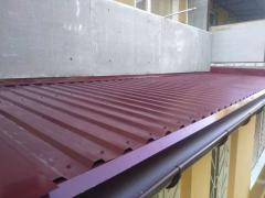 Repair of the visor and roof of the balcony! Kharkiv and region