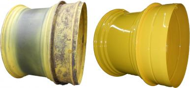 Urgent repair of agricultural wheels
